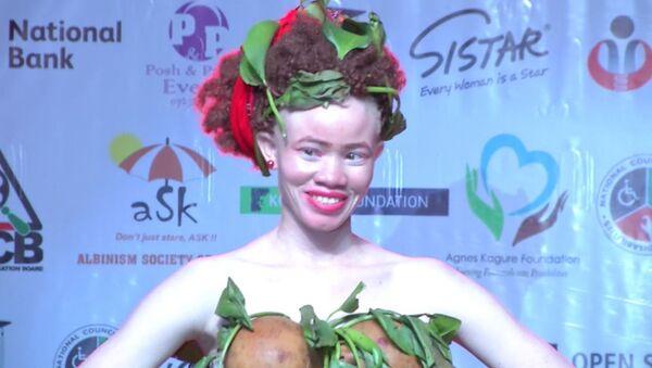 V Afrike proveli konkurs krasotы sredi albinosov - Sputnik Oʻzbekiston