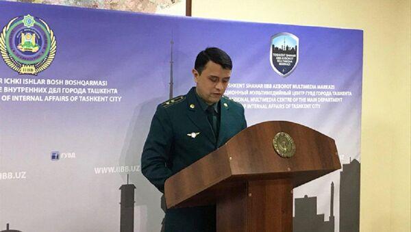 Начальник столичного Управления миграции и оформления гражданства подполковник Кудрат Юлдашев рассказал о новом загранпаспорте - Sputnik Ўзбекистон