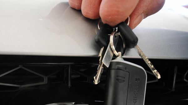 Ключи от автомобиля - Sputnik Узбекистан