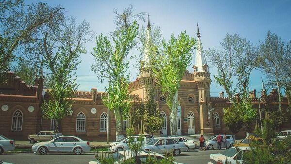 Самаркандская областная библиотека - Sputnik Узбекистан