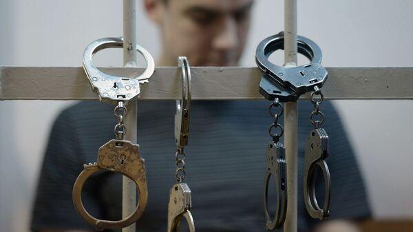 Преступник за решеткой - Sputnik Ўзбекистон