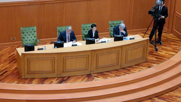 17-ое пленарное заседание Сената Олий Мажлиса РУз - Sputnik Ўзбекистон