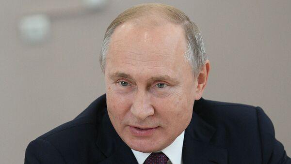 Рабочая поездка президента РФ В. Путина в Ярославль  - Sputnik Ўзбекистон