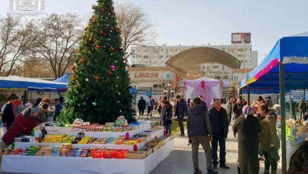 Новогодняя ярмарка в Ташкенте - Sputnik Узбекистан