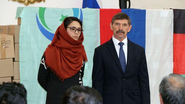 17 декабря в Посольстве Российской Федерации в Исламской республике Афганистан состоялась церемония передачи гуманитарного медицинского груза из России властям Афганистана - Sputnik Узбекистан