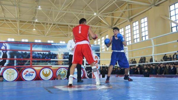 Чемпионат Узбекистана по боксу в Самарканде - Sputnik Узбекистан