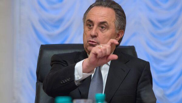 Министр спорта РФ Виталия Мутко - Sputnik Узбекистан