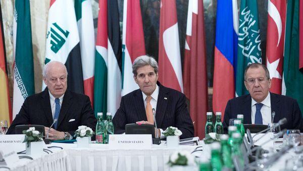 Встреча по вопросам сирийского урегулирования в Вене - Sputnik Узбекистан