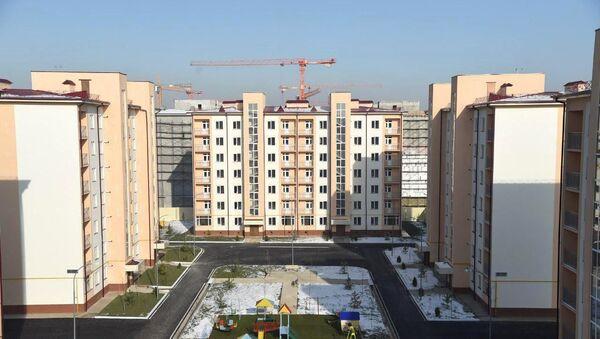 Строительство домов в Сергелийском районе Ташкента - Sputnik Ўзбекистон