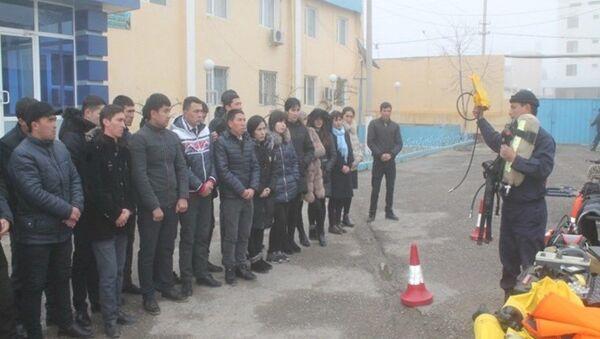 МЧС провело День открытых дверей - Sputnik Узбекистан