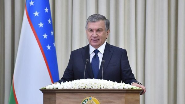 Президент Узбекистана Шавкат Мирзиёев на расширенном совещании с сотрудниками СГБ - Sputnik Ўзбекистон
