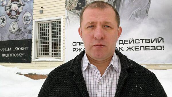 Петр Фефелов, инструктор-телохранитель, эксперт в области комплексной безопасности группы компаний Витязь - Sputnik Узбекистан