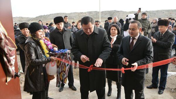 В Фергане жителям вручили ключи от новых квартир - Sputnik Ўзбекистон