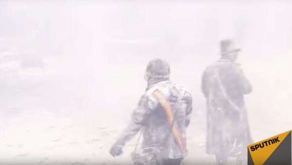 Мучное побоище: кадры с фестиваля-сражения в Испании - Sputnik Узбекистан