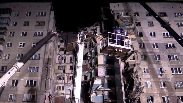 Взрыв бытового газа в жилом доме в Магнитогорске - Sputnik Ўзбекистон
