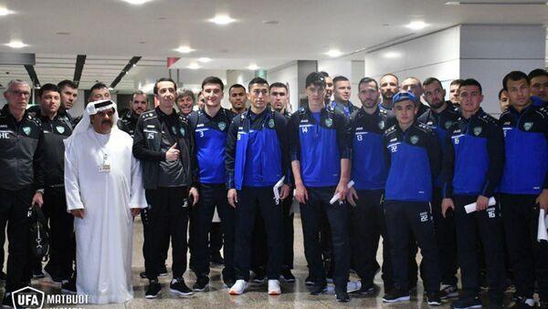 Сборная Узбекистана прибыла в Объединенные Арабские Эмираты для участия в Кубке Азии-2019 - Sputnik Ўзбекистон