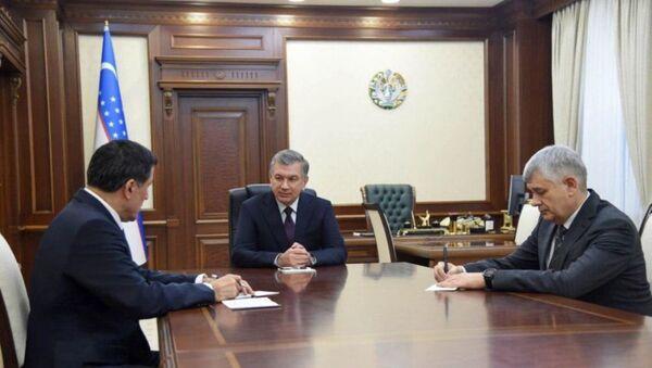 Шавкат Мирзиёев принял вновь назначенного Генерального секретаря Шанхайской организации сотрудничества - Sputnik Ўзбекистон