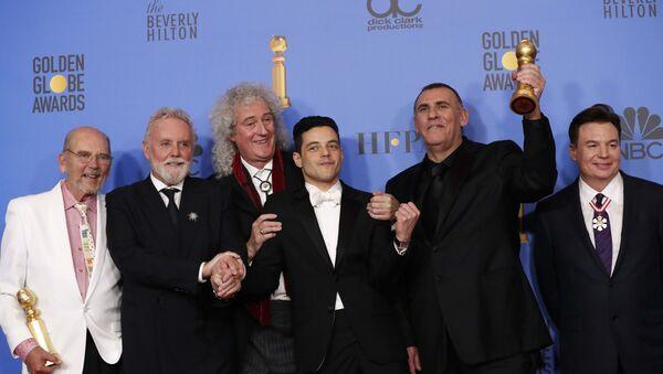 Вручение награды Золотой глобус за фильм Богемская рапсодия - Sputnik Узбекистан