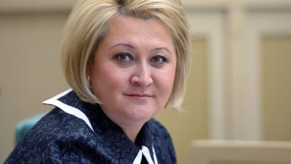 Первый заместитель председателя Комитета Совета Федерации по науке, образованию и культуре Лилия Гумерова - Sputnik Узбекистан