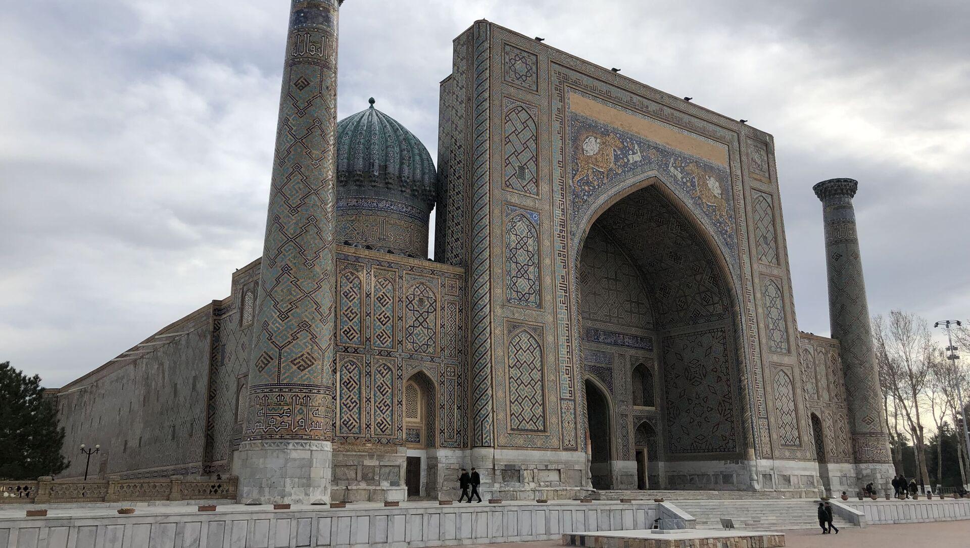 Площадь Регистан в Самарканде - Sputnik Узбекистан, 1920, 22.02.2021