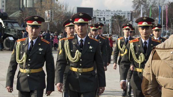 Мероприятия в честь Дня  защитников Родины - Sputnik Ўзбекистон