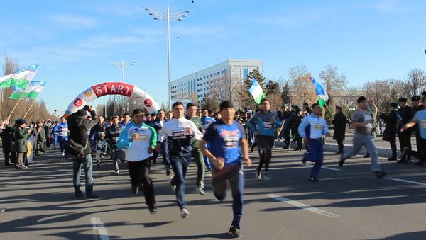 Марафон в Ташкенте - Sputnik Ўзбекистон