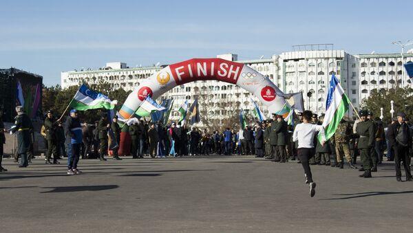 Марафон в Ташкенте - Sputnik Узбекистан