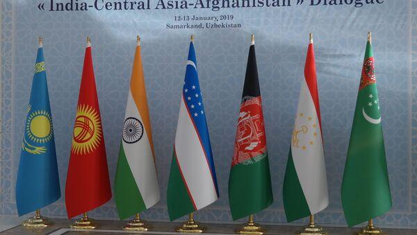V Samarkande sostoyalas pervaya ministerskaya vstrecha dialoga Indiya – Tsentralnaya Aziya s uchastiyem Afganistana - Sputnik Oʻzbekiston