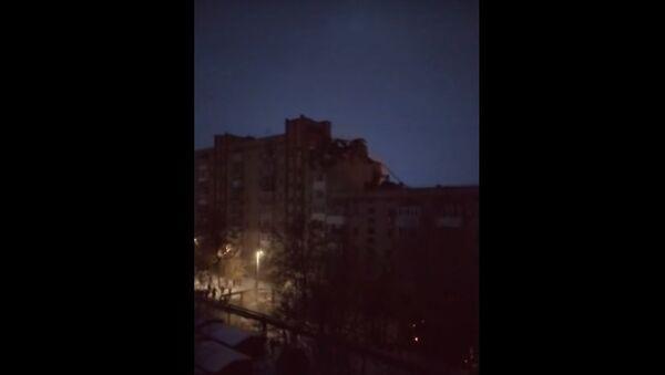 Posledstviya vzrыva v jilom dome v Shaxtax – video - Sputnik Oʻzbekiston