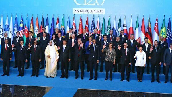 G20 саммити қатнашчилари - Sputnik Ўзбекистон