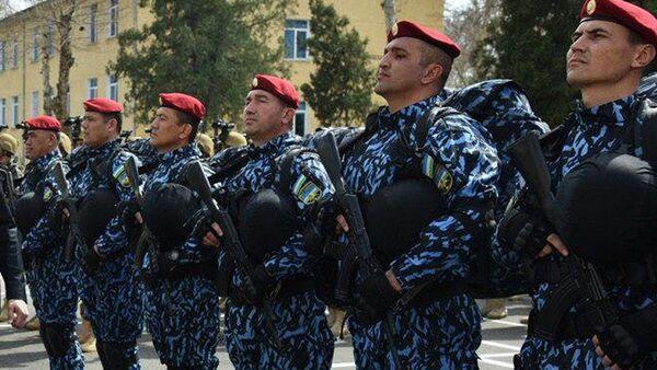 Sotrudniki Natsionalnoy gvardii Uzbekistana - Sputnik Oʻzbekiston