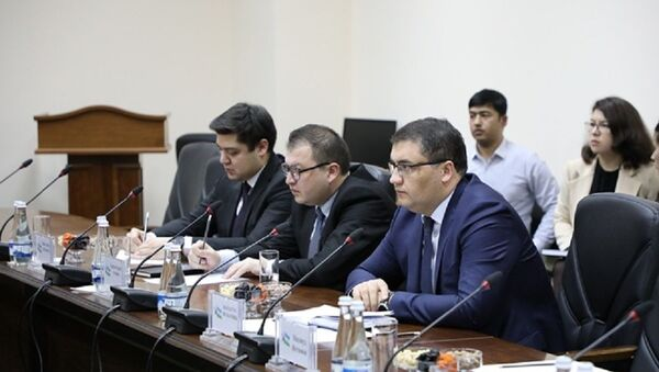 Министр юстиции Узбекистана Русланбек Давлетов встретился с министром юстиции Южной Кореи Пак Сан Ги - Sputnik Узбекистан