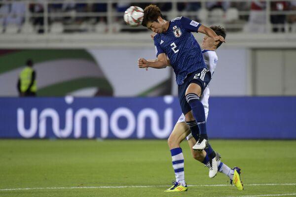 Матч сборных Японии и Узбекистана на Кубке Азии - 2019 - Sputnik Узбекистан