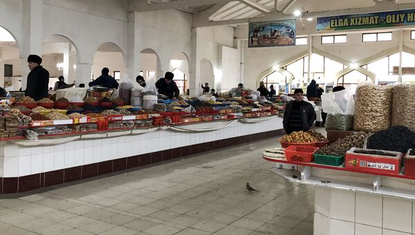 Узбекский рынок - Sputnik Узбекистан