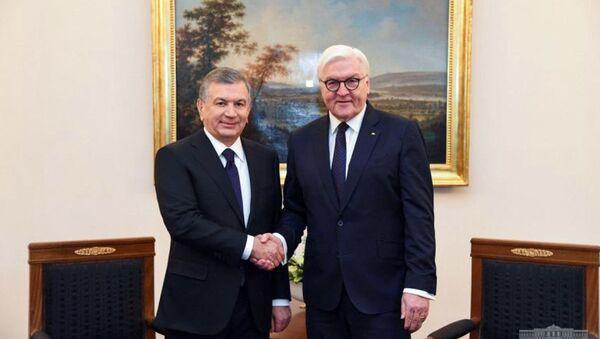 Nachalis peregovorы Prezidentov Uzbekistana i Germanii  - Sputnik Oʻzbekiston