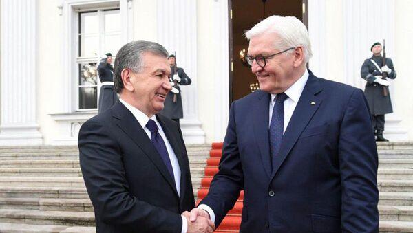 Shavkat Mirziyoyev priglasil Franka-Valtera Shtaynmayera v Uzbekistan - Sputnik Oʻzbekiston