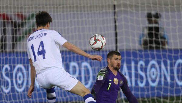 Матч сборных Узбекистана и Австралии на Кубке Азии - Sputnik Узбекистан