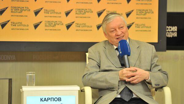 Anatoliy Karpov - Sputnik Oʻzbekiston