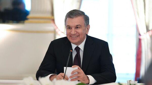 Шавкат Мирзиёев встретился с представителями деловых кругов Германии - Sputnik Ўзбекистон