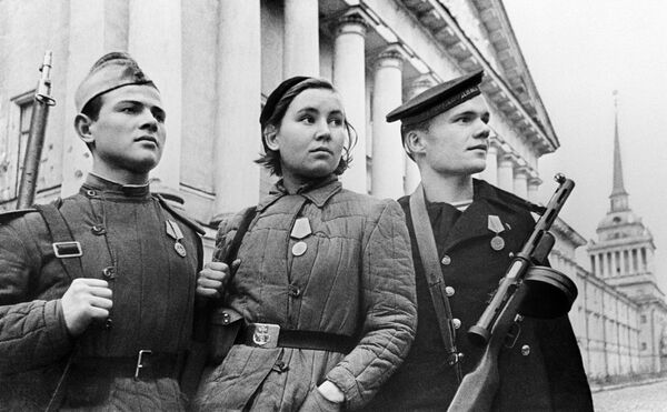 Защитники Ленинграда - Sputnik Узбекистан