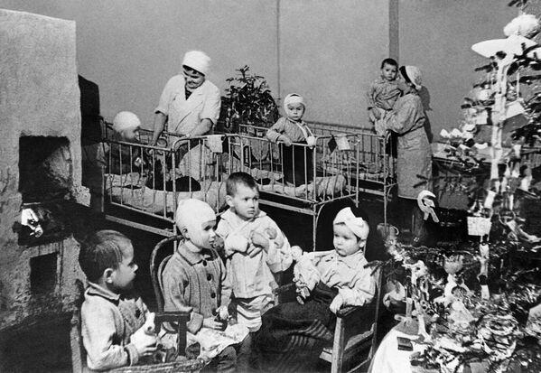 Дети блокадного Ленинграда - Sputnik Узбекистан