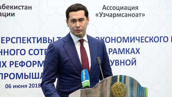 Sardor Umurzakov - Sputnik Oʻzbekiston