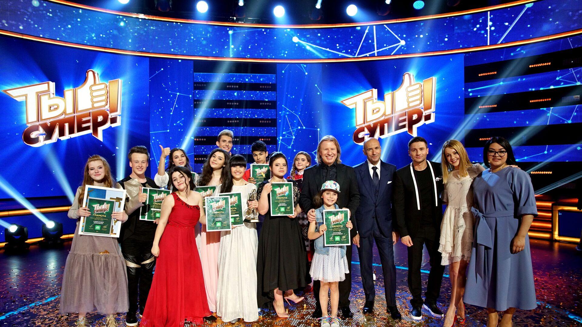 НТВ объявляет о запуске третьего сезона Ты супер! - Sputnik Узбекистан, 1920, 03.09.2021