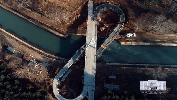 Подвесной мост в Ташкенте - Sputnik Узбекистан