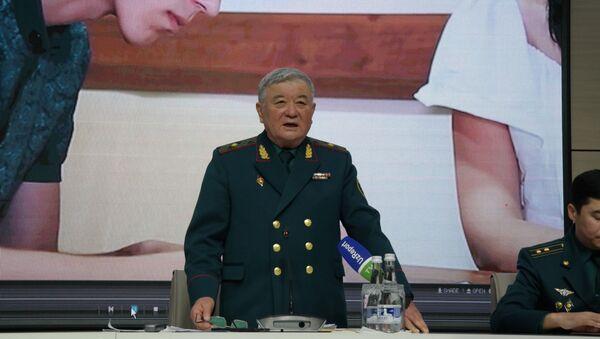Glava Upravleniya po svyazyam s obщestvennostyu i SMI MVD Respubliki Uzbekistan general-mayor Kutbiddin Burxanov - Sputnik Oʻzbekiston