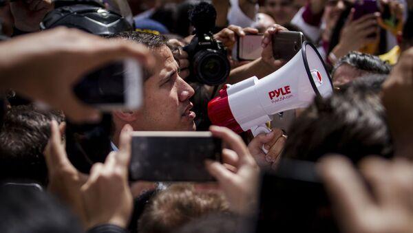 Митинг оппозиции в Каракасе - Sputnik Ўзбекистон