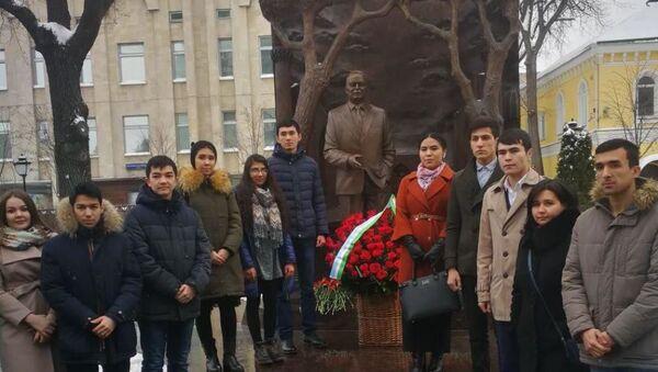 В Москве почтили память Ислама Каримова - Sputnik Ўзбекистон