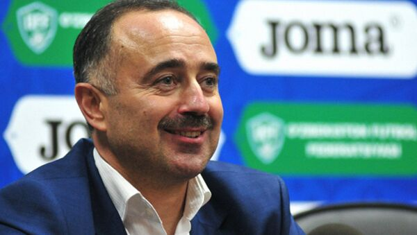 Тренер национальной сборной Узбекистана Самвел Бабаян - Sputnik Ўзбекистон