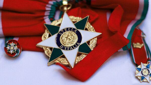 Italiya yulduzi ordeni - Sputnik Oʻzbekiston