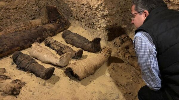 В Египте нашли гробницу с древними мумиями  - Sputnik Узбекистан